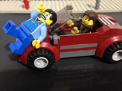 Lego Car Accident