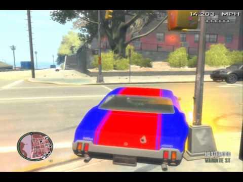 GTA IV: Sabre GT 6 Star Getaway