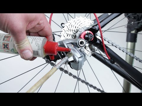 Lubricate Moving Bike Parts