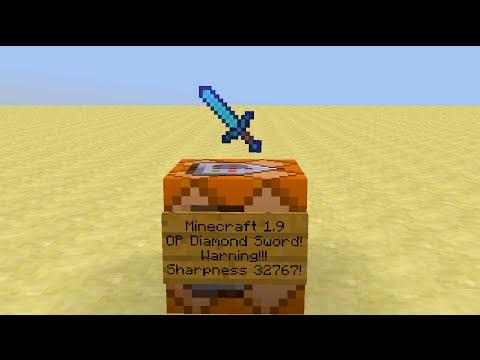 Minecraft - How to make an OP Sword in Vanilla Minecraft!