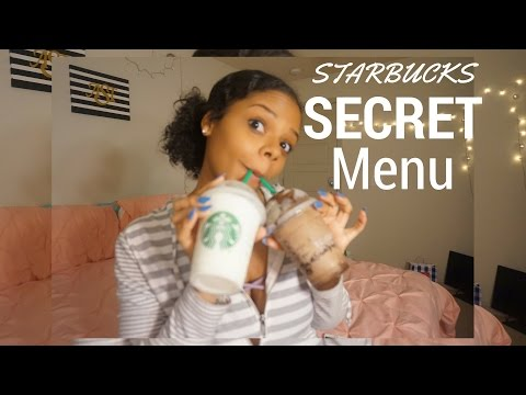 TASTING STARBUCKS FRAPPUCCINO FROM THE SECRET MENU!!!