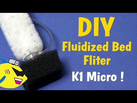DIY Fluidized Bed Filter: K1 Micro Media Aquarium Filter