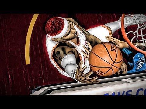 NBA 2k13 MyCAREER - New Rookie Ballin While Kyrie is Injured - Quadruple Double GamePlay