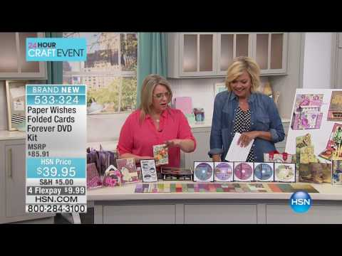 HSN | Card Making Tools & Supplies 03.08.2017 - 06 PM