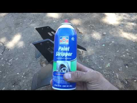 Removing spray paint from Yamaha warrior 350