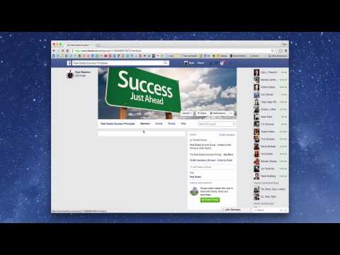 How To Find A Facebook Group Admin