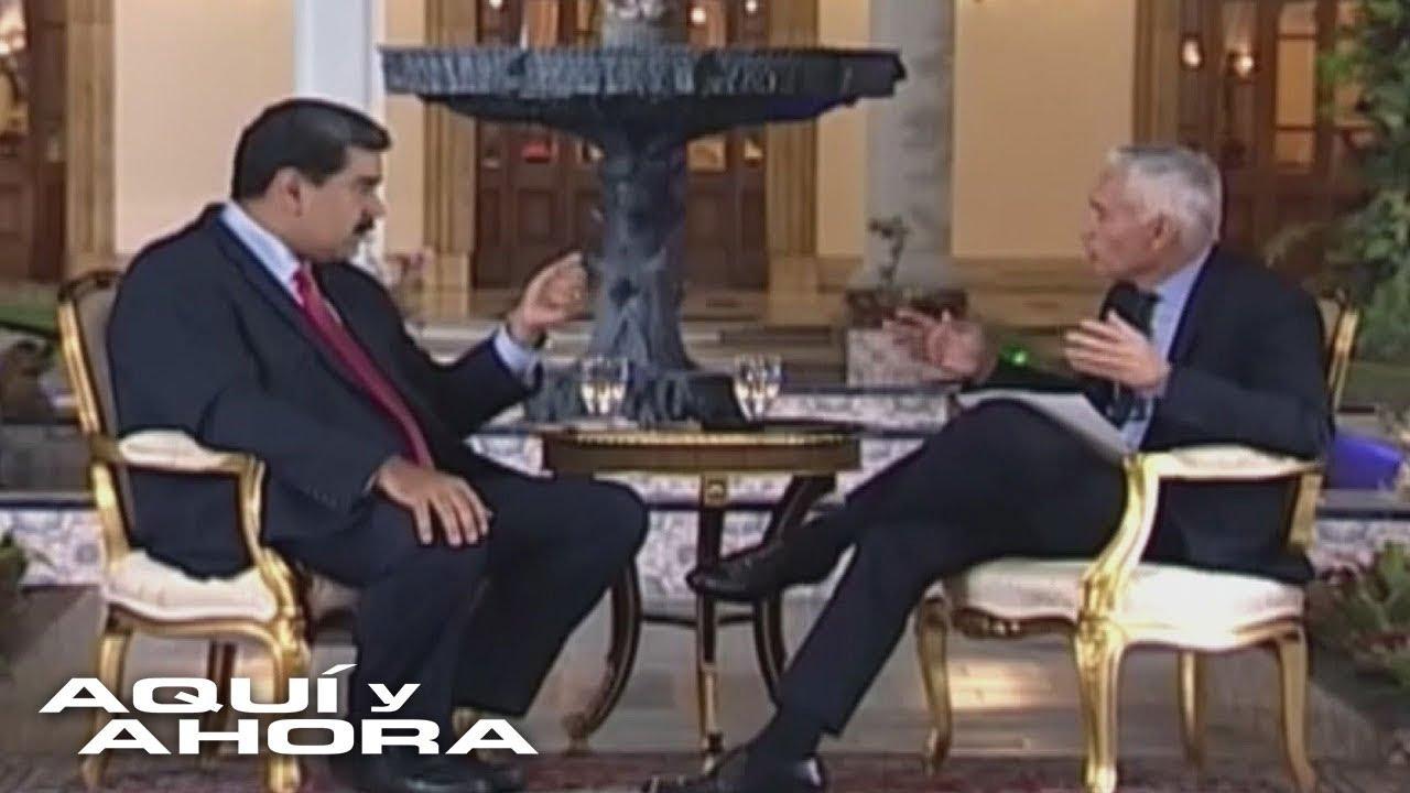 """""""Si fueras venezolano tendrías que enfrentarte con la justicia"""": la amenaza de Maduro a Jorge Ramos"""