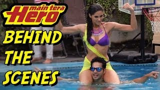 Behind the scenes of the Making of Main Tera Hero