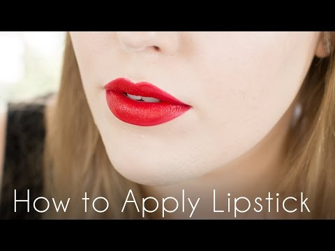 How to Apply Lipstick Tutorial // Back to Basics Makeup Tutorials // Rebecca Shores MUA