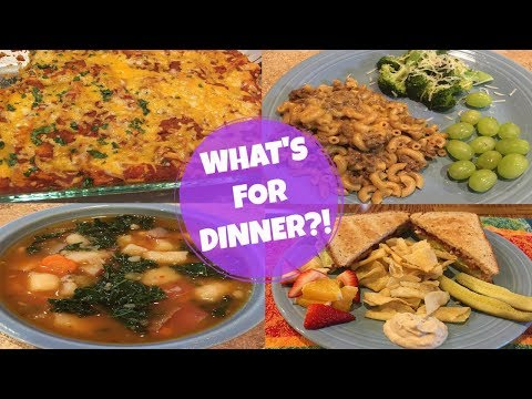 WHAT'S FOR DINNER?? FEB 19-28