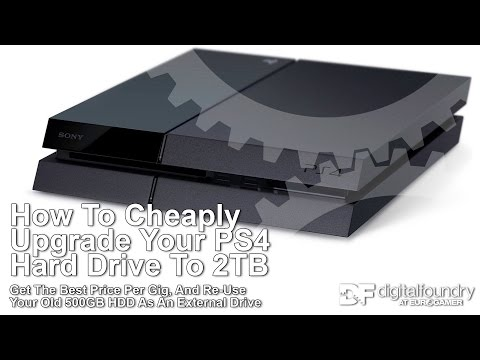 How To Cheaply Upgrade Your PS4 Hard Drive to 2TB