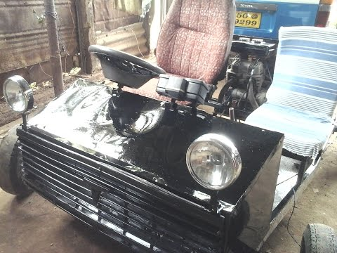 Homemade Motor Car/Buggy/GoKart