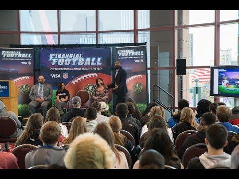 Former Super Bowl Champion and 2-time Pro Bowler Greg Jennings Plays Visa's Financial Football