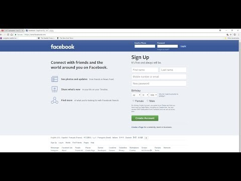 Facebook : Google  chrome : How to prevent  Email Address from showing up in Facebook Log In