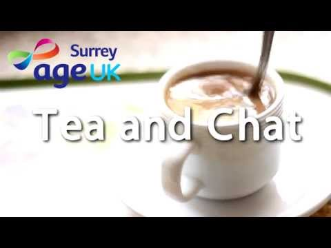 Age UK Surrey:  Tea and Chat in Tandridge