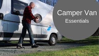 Camper Van Essentials: What I Wish I