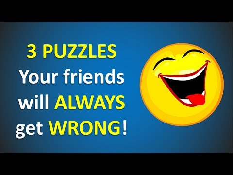 3 Riddles Your friends will Always get WRONG! - Impossible - Can you solve it?