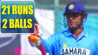 21 OF 2 BALLS !! - SEHWAG ON FIRE !!