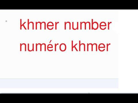 Learn Khmer, Learn Khmer Online, Learn Khmer Free, Learn Khmer Alphabet