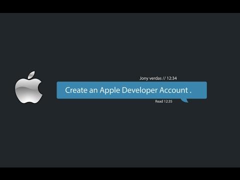 Wowonder iOS : Create an Apple Developer Account.
