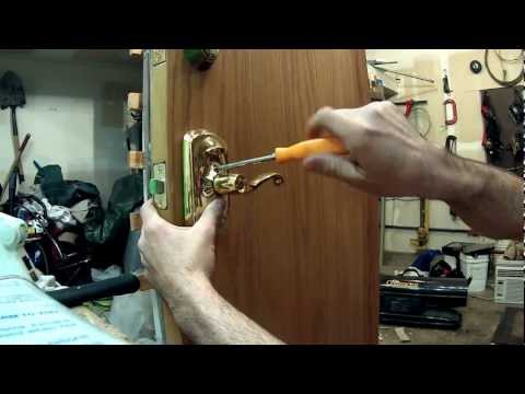 How To Install a Electronic Keypad Lock (Schlage)