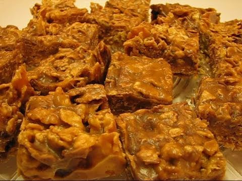 Betty's Old Standby Chewy Peanut Squares