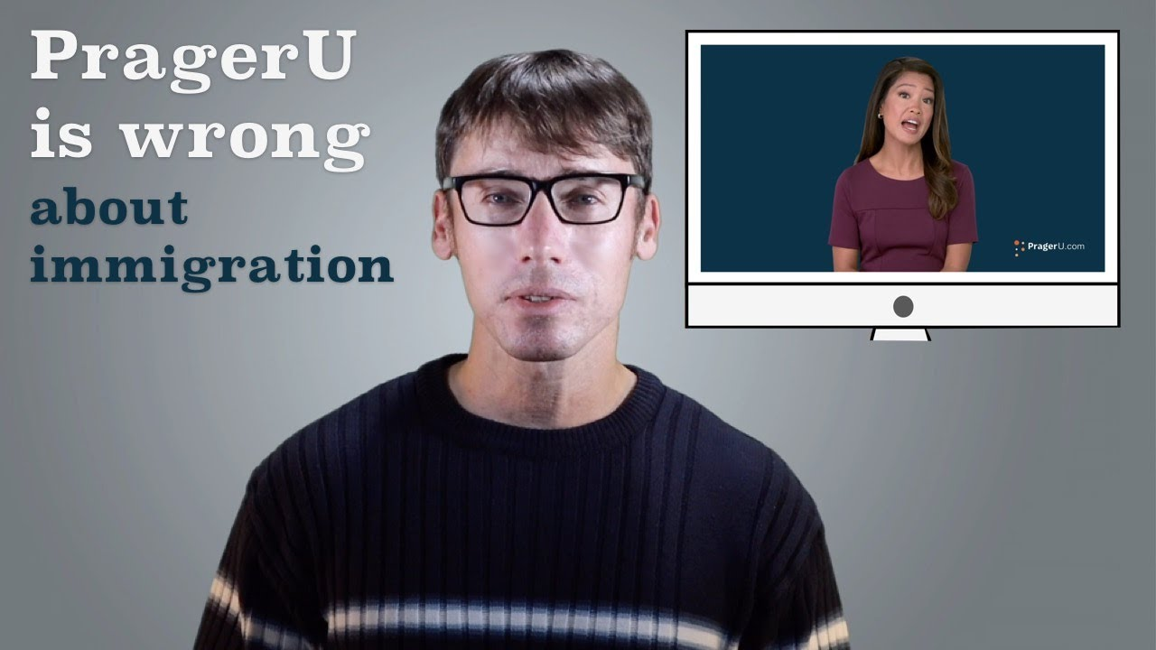 Debunking a PragerU Video About U.S. Immigration
