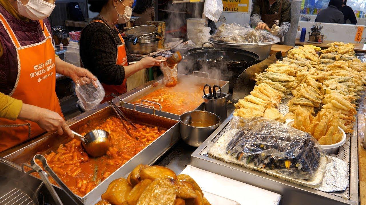 서울,경기 Top 8 분식, 떡볶이, 순대, 튀김, 어묵 몰아보기 | Top 8, Best Seoul Tteokbokki Shop | Korean Street food