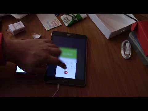 Samsung Galaxy Tab A - part 2 - Answering calls / texting