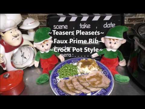 ~Crock Pot Faux Prime Rib~