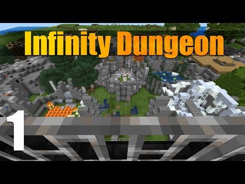 Infinity Dungeon EX (Part 1) | A Minecraft Adventure Map