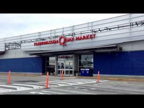 Tsawwassen Ferry Terminal near Vancouver BC