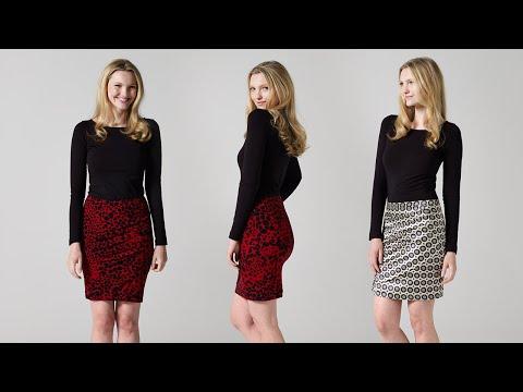 How to Make a Draped Skirt | Teach Me Fashion