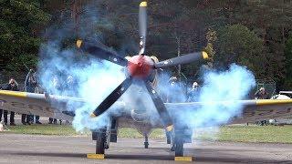 4Kᵁᴴᴰ / Supermarine Spitfire FR Mk.XVIIIe - AWESOME Rolls Royce Griffon SOUND!!!