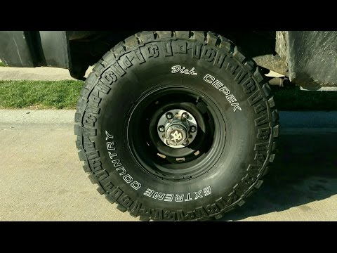Blacked Out Rally Wheels on '81 Chevy K20