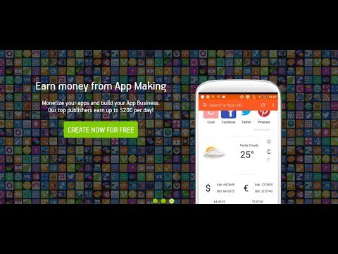 HOW TO MAKE ANDROID APPS || AppsGeyser ANDROID APP MAKING TUTORIAL#ONLINE TECH DEGREE