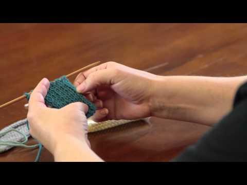 What Knitting Stitch Stops Rolling? : Advanced Knitting Stitches
