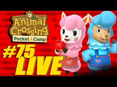Feat. Mel (My Wife)! Mario MAR10 Event  - Animal Crossing: Pocket Camp Live Stream