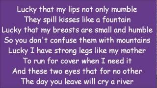 shakira whenever wherever lyrics