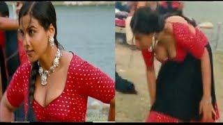 Vidya Balan shoots for her upcoming film Tumhari Sulu | Vidya Balan Saree Latest | Navel Cleavage