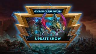 SMITE - Update Show VOD - Goddess of the Salt Sea