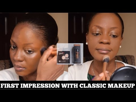 Testing Classic Makeup Matte Foundation & HD Powder - First Impressions | Omobola Missglam