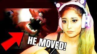 ANIMATRONICS MOVING CAUGHT ON CAMERA!! | SCARY (Reaction)