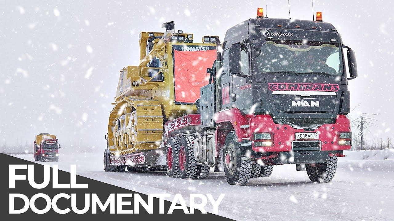 Most Dangerous Transports: Siberian Ice Road | Mega Transports | Free Documentary
