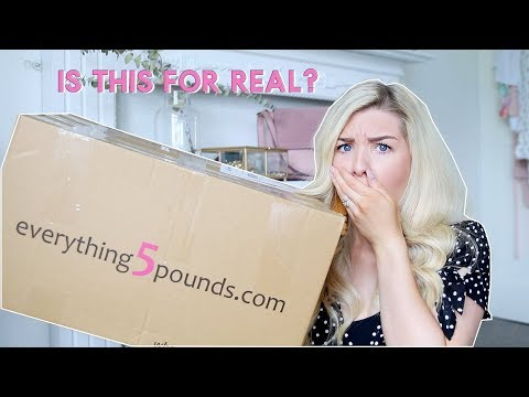 I WENT SHOPPING ON EVERYTHING5POUNDS.COM WAS IT ANY GOOD? | EVERYTHING £5 HAUL | KATE MURNANE