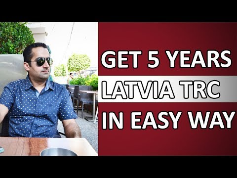 Latvia 5 Years TRC Visa Easy Way
