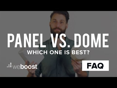 Panel vs. Dome Antennas - All You Need To Know | weBoost