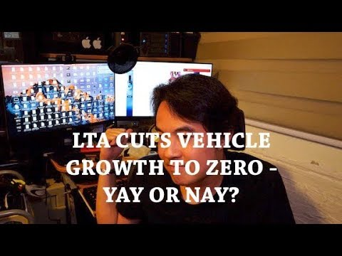 LTA cuts vehicle growth rate to zero! Now is the time to buy a PMD!!