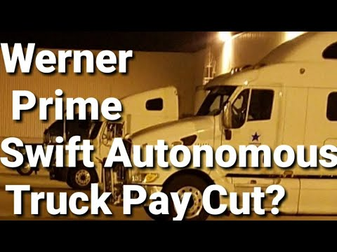 Truck Drivers Pay Cut 60%?