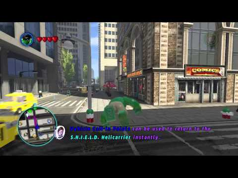 LEGO MARVEL- Freely switch characters in freeroam